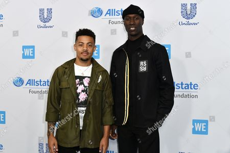 Editorial picture of WE Day California, Arrivals, Los Angeles, USA - 27 Apr 2017
