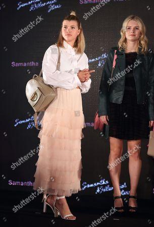 Sofia Richie and Lottie Moss
