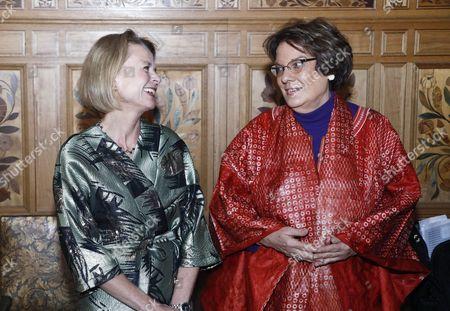 Asa Regner, Minister for Children, the Elderly and Gender Equality, Molly Melching