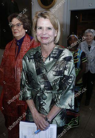 Asa Regner, Minister for Children, the Elderly and Gender Equality, patron of World's children's prize
