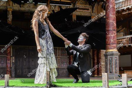 Kirsty Bushell (Juliet), Edward Hogg (Romeo)