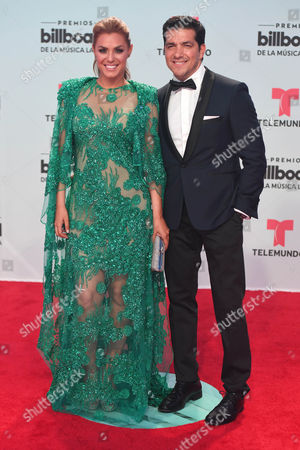 Editorial picture of 2017 Billboard Latin Music Awards, Arrivals, Miami, USA - 27 Apr 2017