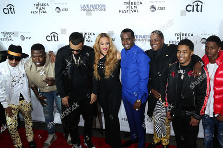 Guest, French Montana, Faith Evans, Sean Combs, Mase, Justin Dior Combs, Christian King Combs
