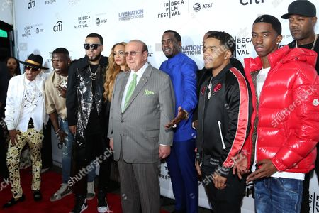 Guest, French Montana, Clive Davis, Sean Combs, Mase, Justin Dior Combs, Christian King Combs