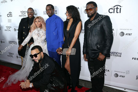Andre Harrell, Lil Kim, Sean Combs, French Montana, Cassie Ventura, Carl Thomas