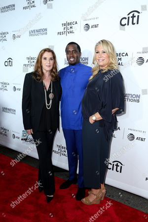 Paula Weinstein, Sean Combs Heather Parry