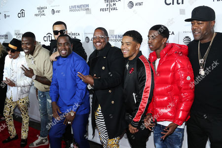Guest, French Montana, Sean Combs, Mase, Justin Dior Combs, Christian King Combs