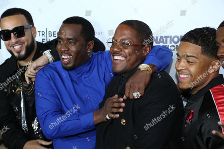 French Montana, Sean Combs, Mase, Justin Dior Combs