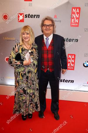 Patricia Riekel and Helmut Markwort