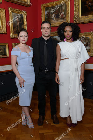 Florence Pugh, Cosmo Jarvis and Naomi Ackie