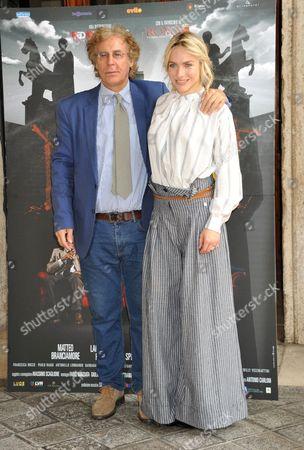 Editorial picture of 'Il Mondo Di Mezzo' film photocall, Rome, Italy - 27 Apr 2017