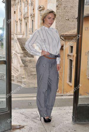 Editorial photo of 'Il Mondo Di Mezzo' film photocall, Rome, Italy - 27 Apr 2017