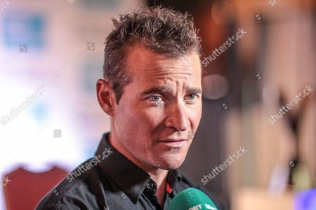Thomas Voeckler (Direct Energie), defending champion for the third Tour de Yorkshire during the Tour de Yorkshire Press Conference at the National Railway Museum, York