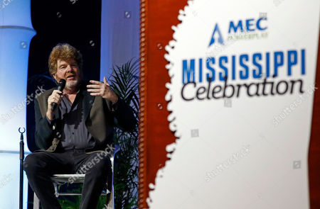 Mississippi country music singer-songwriter, session musician and record producer Mac McAnally speaks about how the state has influenced him and his work during the spring meeting luncheon of the Mississippi Economic Council, the state Chamber of Commerce, in Jackson, Miss