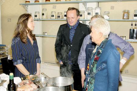 Diane Lane, Arnaud Viard, Chef Maria Sinskey, Eleanor Coppola (Director)