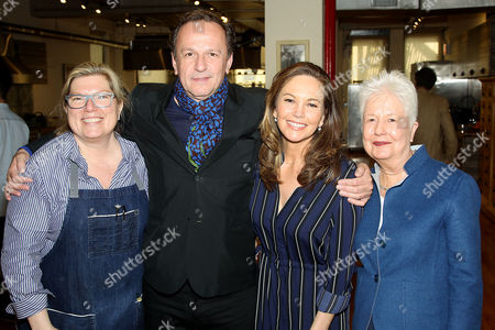 Editorial picture of Sony Pictures Classics' 'Paris Can Wait' Cooking Demo by Chef Maria Sinskey with cast Diane Lane, Arnaud Viard and Director Eleanor Coppola, New York, USA - 27 Apr 2017