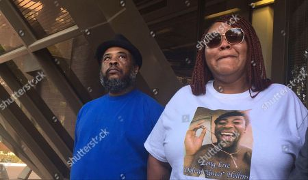 Stock Photo of Sarah Coleman, Frederick Franklin Sarah Coleman, right, the mother of Dalvin Hollins, and Frederick Franklin, his stepfather, say they're planning protests following an announcement that the police officer would not face charges in Tempe, Ariz., on . Maricopa County Attorney Bill Montgomery said Wednesday, April 26, Lt. Edward Ouimette, a longtime department veteran who fatally shot 19-year-old Dalvin Hollins on July 27, 2016, was acting within the law