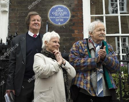 Playwright Sir David Hare, Judi Dench and actor Michael Pennington