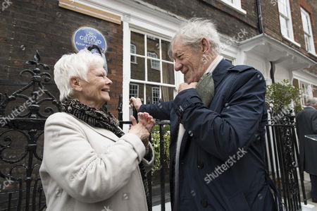 Sir Ian McKellen and Judi Dench