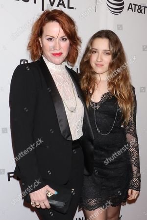 Molly Ringwald and daughter Mathilda Ereni Gianopoulos