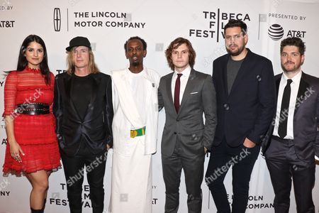 Kiana Madani, Bryan Buckley, Barkhad Abdi, Evan Peters, Jay Bahadur and Philip Ettinger