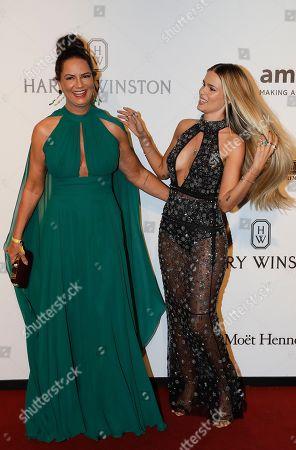 Luiza Brunet, left, and model daughter Yasmin Brunet