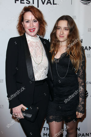 Molly Ringwald and Mathilda Ereni Gianopoulos