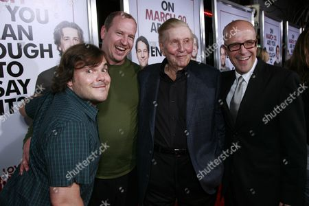 Jack Black, Rob Moore, Sumner Redstone & Donald De Line