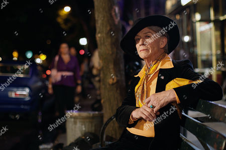 Stock Image of 'An Englishman In New York', John Hurt as Quentin Crisp