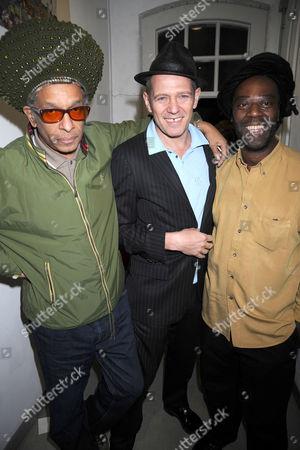 Don Letts, Paul Simonon and Leo Williams