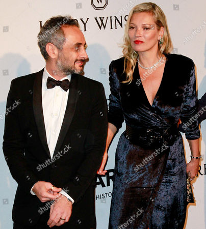 Ara Vartanian and Kate Moss