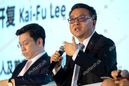 Ya-Qin Zhang, Kai-Fu Lee Ya-Qin Zhang, president of Chinese search engine and technology firm Baidu, right, speaks as Kai-Fu Lee, CEO of Sinovation Ventures and the former head of Google China, listens during a panel discussion at the Global Mobile Internet Conference (GMIC) in Beijing