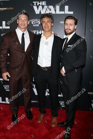 John Cena, Doug Liman, director and Aaron Taylor-Johnson