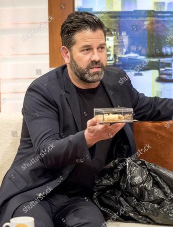 Patrick Baladi presents some sweet treat baklava