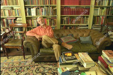 Writer Ray Galton Half Of The Famous Galton And Simpson Writing Team At His Home Near Hampton Court.