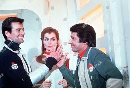 'Destination Moonbase-Alpha'  TV Film - 1978 -   Stuart Damon, Catherine Schell, Tony Anholt.