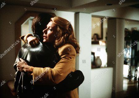 "'Fear Stalk'  TV Film - 1989 -  Alexandra ""Ally"" Maynard (Jill Clayburgh) is comforted by Tom Hagen (Stephen Macht)"