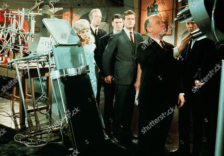 Stock Picture of 'The Fiction Makers'  - Justine Lord, Philip Locke, Roger Moore and Kenneth J Warren