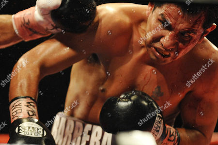 Editorial image of Amir Khan v Marco Antonio Barrera, Lightweight Boxing Match at the M.E.N, Manchester, Britain  - 14 Mar 2009
