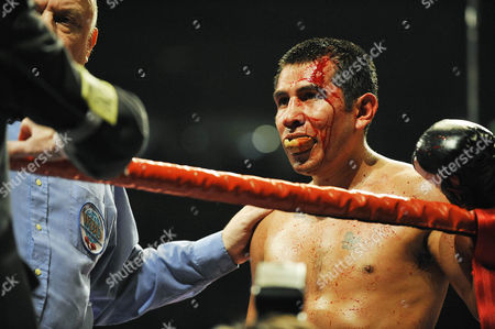 Editorial picture of Amir Khan v Marco Antonio Barrera, Lightweight Boxing Match at the M.E.N, Manchester, Britain  - 14 Mar 2009