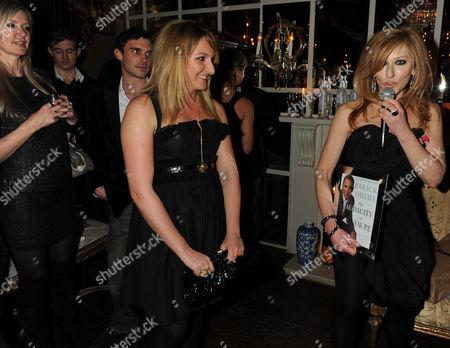 Kelly Hoppen and Natasha Corett