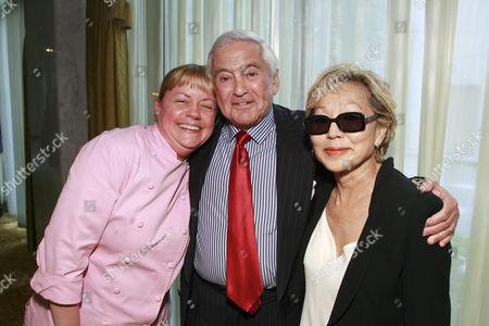 Sherry Yard, Fred Hayman and Betty Hayman