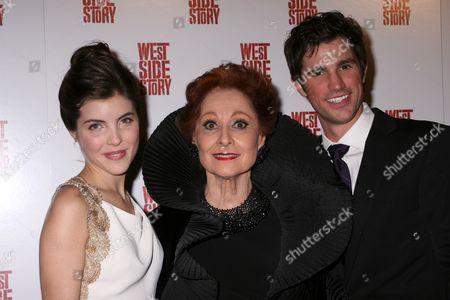 Josefina Scaglione, Carol Lawrence, Matt Cavenaugh