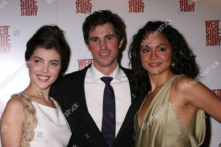 Josefina Scaglione, Matt Cavenaugh, Karen Olivo