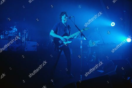 Stock Image of Luke Pritchard, Peter Denton, and Alexis Nunez - The Kooks