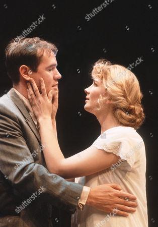 Stock Image of David Herlihy (Mat Burke) and Natasha Richardson (Anna Christie)