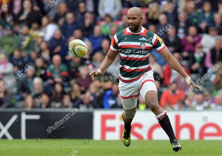 Leicester's JP Pietersen - Rugby Union - Leicester Tigers V Sale Sharks - Aviva Premiership - 29/04/17 - at Welford Road Leicester UK. Photo Credit - Tom Dwyer/Seconds Left Images