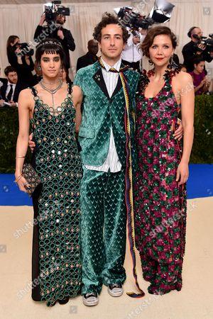 Stock Picture of Sofia Boutella, Francesco Risso and Maggie Gyllenhaal