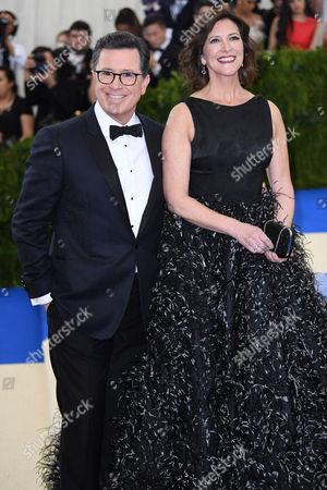 Stephen Colbert, Evelyn Colbert