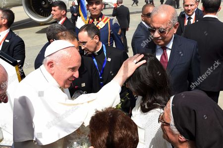 Sherif Ismail and Pope Francis